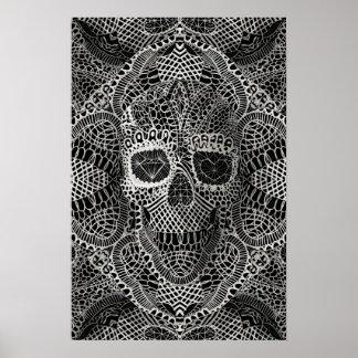 Cráneo del cordón posters