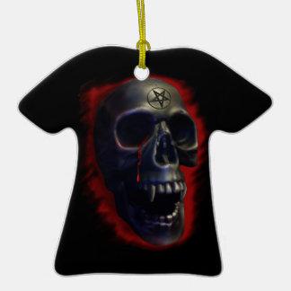 Cráneo del demonio adorno de reyes