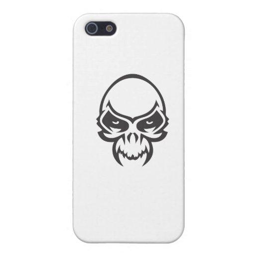 Cráneo del demonio iPhone 5 cárcasas