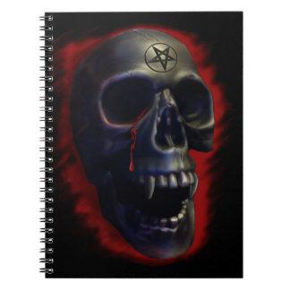 Cráneo del demonio libretas