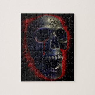 Cráneo del demonio puzzles con fotos