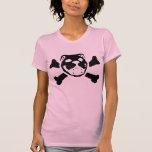 Cráneo del dogo camisetas