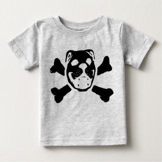 Cráneo del dogo para el bebé poleras