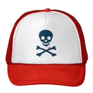 cráneo del dril de algodón gorras