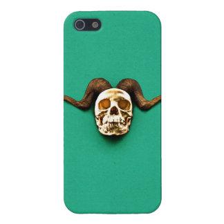 Cráneo del espolón iPhone 5 carcasas