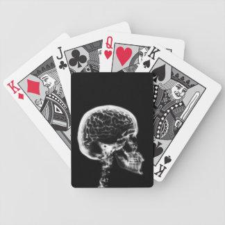 Cráneo del esqueleto de Vision de la radiografía Cartas De Juego