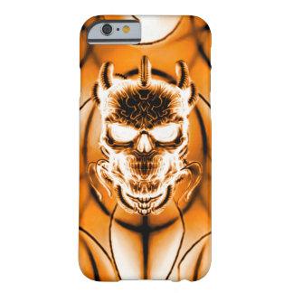 Cráneo del fantasma del Hellfire Funda Para iPhone 6 Barely There