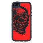 Cráneo del fuego iPhone 5 Case-Mate carcasa