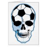 Cráneo del fútbol felicitaciones