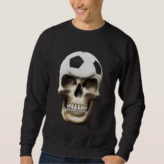 Cráneo del fútbol (fútbol) sudaderas encapuchadas