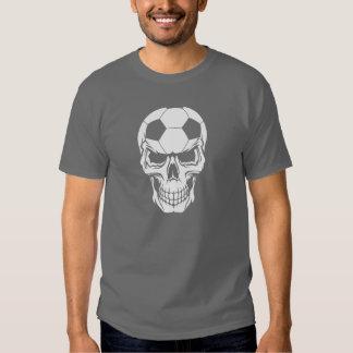 Cráneo del fútbol playeras