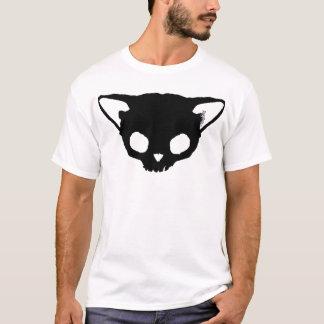 Cráneo del gato negro de Kuginh™ Playera