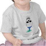 Cráneo del golf camisetas