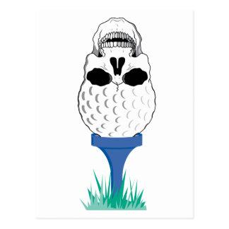 Cráneo del golf postal
