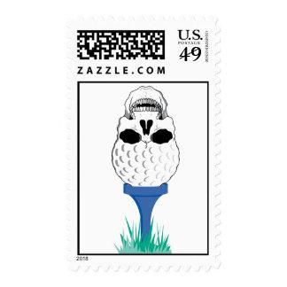 Cráneo del golf sellos