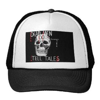 cráneo del gorra de la ciencia forense del csi