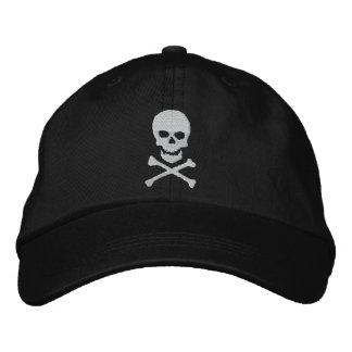 Cráneo del Grunge y casquillo bordado de la bander Gorras Bordadas