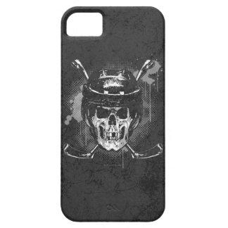 Cráneo del hockey iPhone 5 protectores