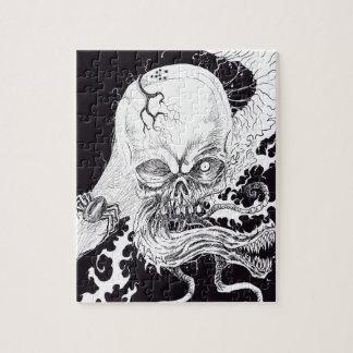 Cráneo del horror puzzle
