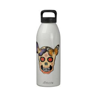 Cráneo del inconformista botella de agua reutilizable