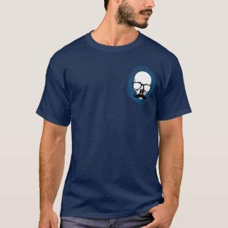 Cráneo del inconformista con el bigote playera