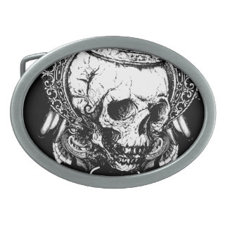 Cráneo del inconformista hebilla de cinturón