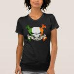 Cráneo del irlandés de Byrne Camisetas