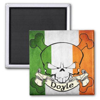 Cráneo del irlandés de Doyle Imán Cuadrado