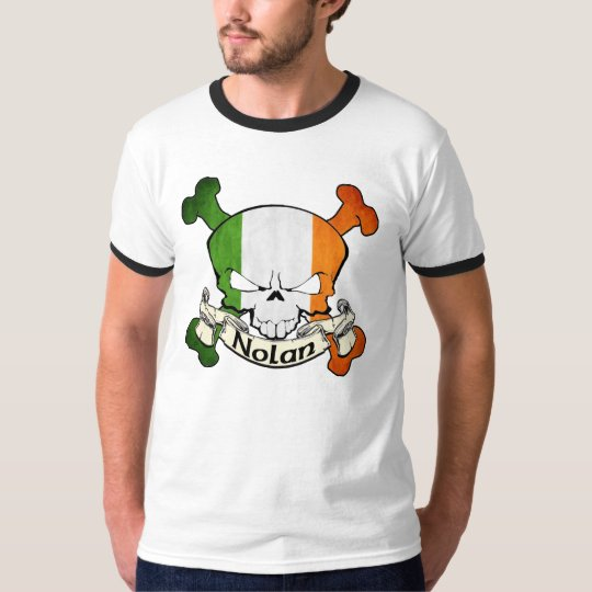 Cráneo del irlandés de Nolan Playera
