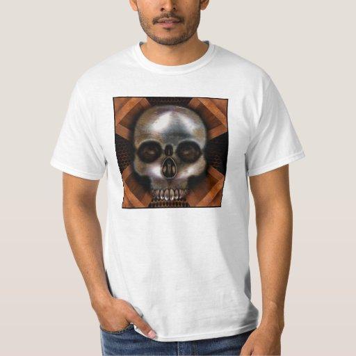Cráneo del metal playera