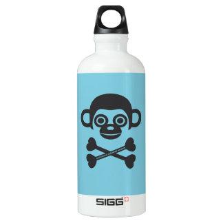 Cráneo del mono botella de agua