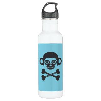 Cráneo del mono botella de agua de acero inoxidable