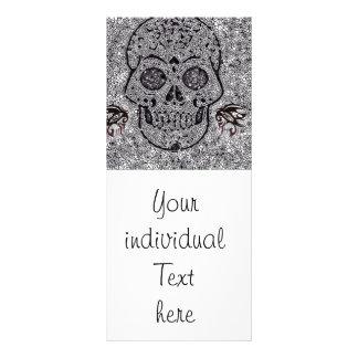 Cráneo del mosaico tarjetas publicitarias