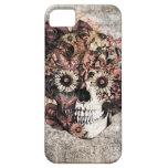 Cráneo del ohmio del Grunge del otoño Funda Para iPhone SE/5/5s