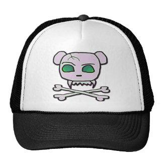 Cráneo del oso gorra