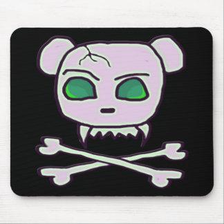 Cráneo del oso tapetes de raton