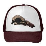 Cráneo del pájaro gorras de camionero