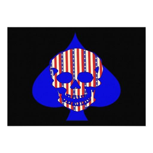 Cráneo del patriota anuncio
