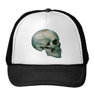 Cráneo del perfil gorras de camionero
