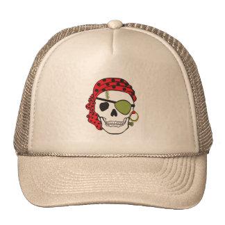 Cráneo del pirata de Frankenstein Gorro De Camionero
