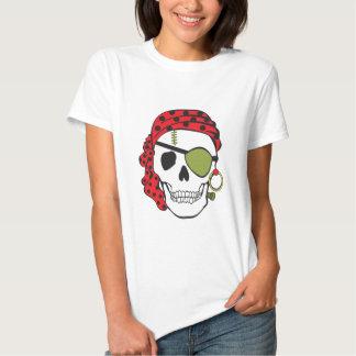 Cráneo del pirata de Frankenstein Playera