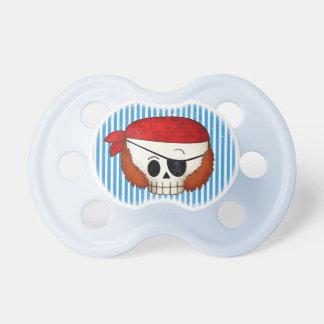Cráneo del pirata de la escuela vieja de Arr Chupetes Para Bebés