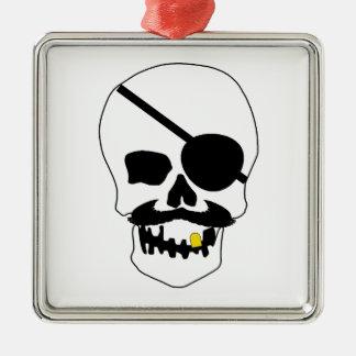 Cráneo del pirata ornamento de reyes magos