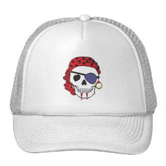 Cráneo del pirata del vampiro gorra