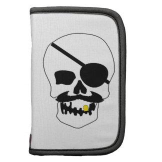 Cráneo del pirata organizador