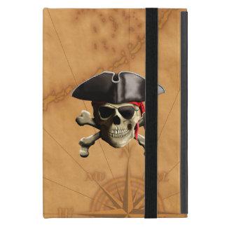 Cráneo del pirata iPad mini protectores
