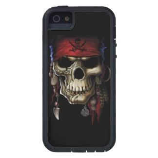 Cráneo del pirata iPhone 5 funda