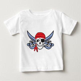 Cráneo del pirata tee shirt