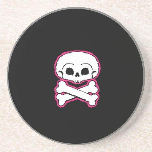 Cráneo del Punky Posavasos Diseño