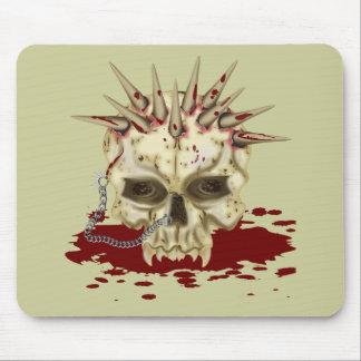 Cráneo del punto tapetes de raton